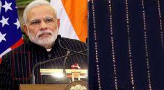 प्रधानमंत्री नरेंद्र मोदी के नाम वाला 'नमो' सूट 4.31 करोड़ रुपये की अंतिम बोली पर नीलाम हुआ. सूरत के हीरा व्यापारी लालजी पटेल ने सबसे बड़ी बोली लगाकर सूट को खरीदा.