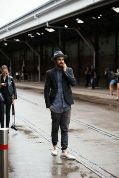How to dress down a blazer... http://www.asos.com/men/suits-blazers/cat/pgecategory.aspx?cid=5678&via=top