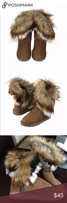 Fashion winter boot Feature:  Upper Material:Artificial leather Sole Material:Plastic Upper Material:chamois Pattern:Solid Decoration:Fur Occasion:Indoor&Outdoor 100% Brand new Shoes