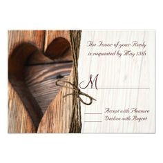 >>>Hello          Rustic Country Wooden Heart Twine Wedding RSVP Personalized Announcement           Rustic Country Wooden Heart Twine Wedding RSVP Personalized Announcement We provide you all shopping site and all informations in our go to store link. You will see low prices onShopping      ...Cleck Hot Deals >>> http://www.zazzle.com/rustic_country_wooden_heart_twine_wedding_rsvp_invitation-161568095218107772?rf=238627982471231924&zbar=1&tc=terrest