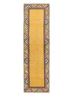 "Hand-Knotted Anatolian Wool Rug, Light Gold, 2' 9"" x 9' 2"" Runner, http://www.myhabit.com/redirect/ref=qd_sw_dp_pi_li?url=http%3A%2F%2Fwww.myhabit.com%2Fdp%2FB00SV6O286%3F"