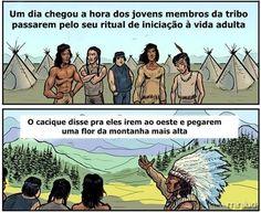 Entidades Ciganas da Umbanda (Clique Aqui) para entrar.: UMA HISTÓRIA SOBRE A SABEDORIA INDIGENA