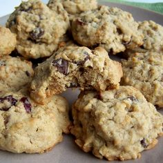 Quinoa Oatmeal Chocolate Chip Cookies