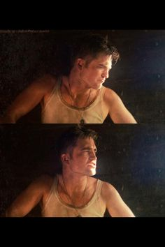 "Robert Pattinson in ""Water for Elephants"""
