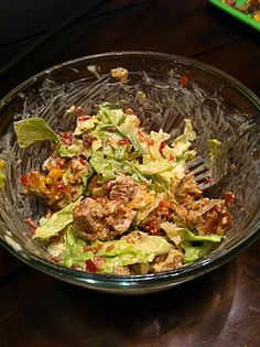 """low carb """"hamburger"""" salad and other low carb recipes"""
