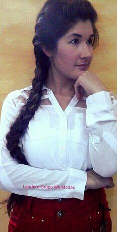 #camisa#saia#look