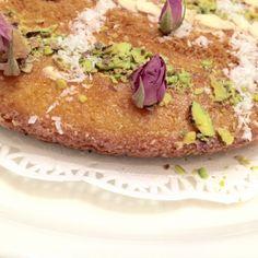 بسبوسة لذيذة  أضيفت بواسطة أم رائد  - الحلويات   #طبخ #طبخات  #وصفات #طبخي