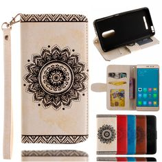 """>> Click to Buy << For Xiaomi Redmi Note 3 Case 5.5"""" Luxury Leather & TPU Flip Wallet Mandala Flower Cover Coque Capinhas for Xiaomi Redmi note 3 #Affiliate"""