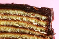 tarta de galletas, chocolate y natillas :-)