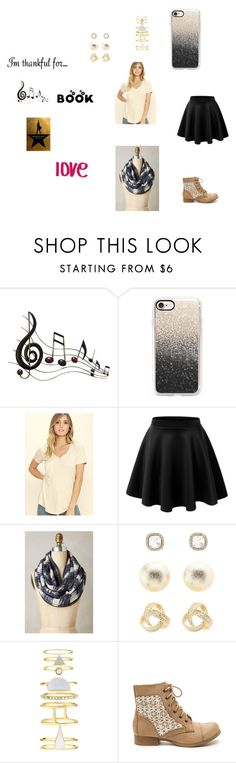 """School #53"" by annao133 ❤ liked on Polyvore featuring Benzara, Love Quotes Scarves, Casetify, Z Supply, LE3NO, Anthropologie, Charlotte Russe, Accessorize and imthankfulfor"