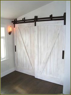 barn door closet bypass - Google Search