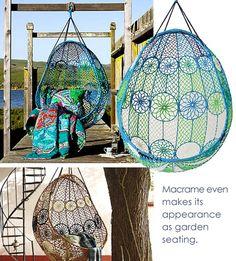Home-Dzine - Modern macrame designs