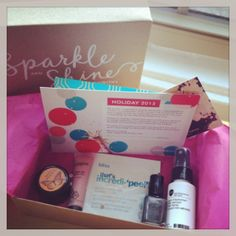 REVIEW: December Birchbox: Sparkle & Shine – Style Context