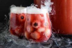 Recipe: Sparkling Cranberry Orange Eyeball Punch