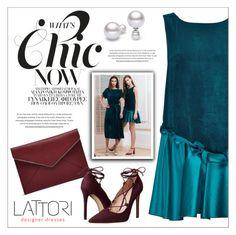 """""""LATTORI dress"""" by water-polo ❤ liked on Polyvore featuring Lattori, Rebecca Minkoff, Massimo Matteo, polyvoreeditorial and lattori"""