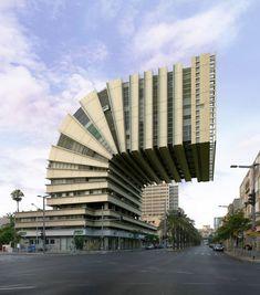 Coup de projecteur aujourd'hui sur les détournements architecturaux de l'artiste Victor Enrich. Il s'amuse avec l'espace urbain en le rendant plus fou, plus vivant, plus impressionnant grâce à des manipulations photographiques qui rendent ses clichés totalement surréalistes !