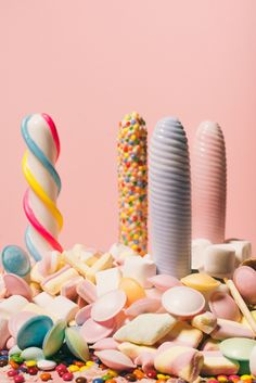 """keep it sweet! Inspired by candies the dildo series """"silicone sweets"""" is made of additive-free, odourless silicone and are the result of a cooperation wit Dildo, Dresden, Studio, Candies, Sprinkles, Sweets, Inspired, Health, Inspiration"""