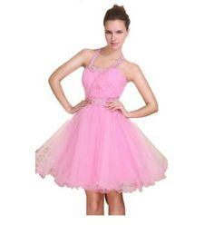 Cute pink short poofy princess dress