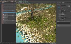 Creating a procedural river & trees using MASH world node on Vimeo