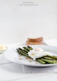 Asparagus with madeira sauce