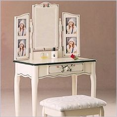 Life is Coming Up Daisies: A few vanity table re-vamp ideas