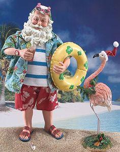 Even Santa loves the Beach