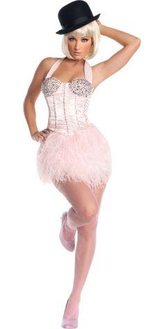 Adult Burlesque Ballerina Costume Deluxe - TV, Movie Costumes - Womens Costumes - Halloween Costumes - Categories - Party City