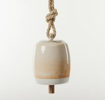 Shino Porcelain Bell - Medium by Michele Quan