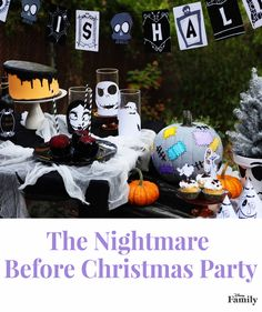 What is this place that we have found? It's Halloween Town, home of Jack Skellington, of course! Personalize these crafts and recipes to create your very own DIY Halloween party inspired by Tim Burton's The Nightmare Before Christmas.