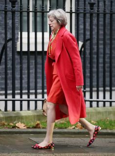 Theresa May is a British Conservative Party politician who has been Home Secretary of the UK since 2010. May was first elected to Parliament in 1997 as the Member of Parliament for Maidenhead.