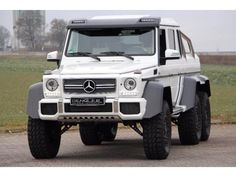 Mercedes-Benz G 63 AMG 6x6 designo mysticwhite Weiß - 3
