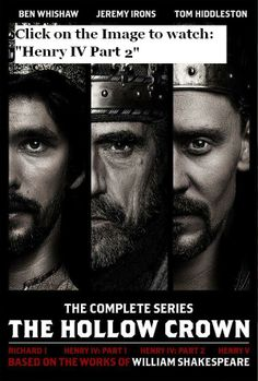 "Episode 3 of ""The Hollow Crown"": Henry IV Part 2. @Kelly Teske Goldsworthy Holle"