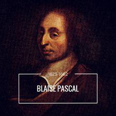 Blaise Pascal adalah seorang matematikawan, ilmuwan fisika, dan filsuf agama dari Prancis. Pascal tidak pernah mendapatkan pendidikan formal, ayahnya mendidik sendiri anak-anaknya. Sejak muda ia menunjukkan talenta yang luar biasa dalam sains dan matematika. Diusia remaja, setelah membuat 50 prototip dan berusaha selama 3 tahun, ia berhasil menciptakan sebuah mesin hitung untuk membantu ayahnya.