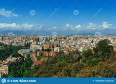 Image of malaga - 158578570 Pictures For Sale, Top View, Spain, Europe, Sevilla Spain, Spanish