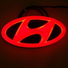 GT Logo Tuning 3D Emblem Clear Red For 11 12 13 Hyundai Veloster