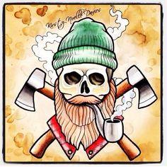 Beard Axe lumberjack