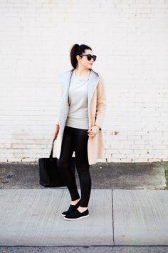 Kendi Everyday: Neutral Vibes.  I need this coat!