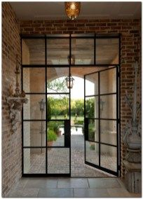 Swedish Decor Ideas 108 In 2020 French Doors Exterior Steel Doors And Windows Industrial Door