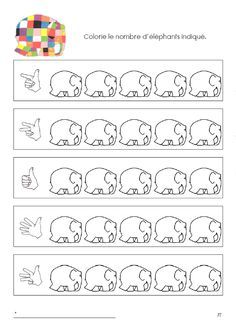 Elmer The Elephants, Le Zoo, Family Planning, Eric Carle, Math Worksheets, Preschool Crafts, Book Activities, Kindergarten, Teaching