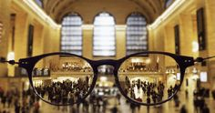110 620x327 Artists Create Beautiful & Clever Images Of New York Through Glasses