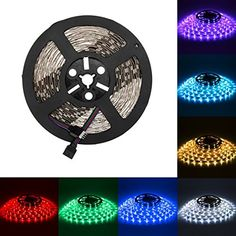 Color Changing Rope Lights Best Supertech Rgb Smd5050 300 Leds 5M Waterproof Flexible Led Strip Review