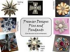 Beautiful multi purpose broaches