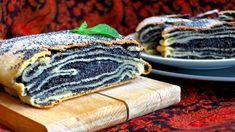 Makový vrstvený koláč: překládaná máslová katlama s mákem Bread, Vegan, Baking, Ethnic Recipes, Food, Cakes, Mascarpone, Cake Makers, Brot