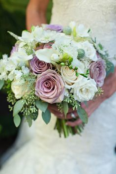 Beautiful spring bridal bouquet by Cherry Blossom Floral Design - photo by The Rasers | via junebugweddings.com