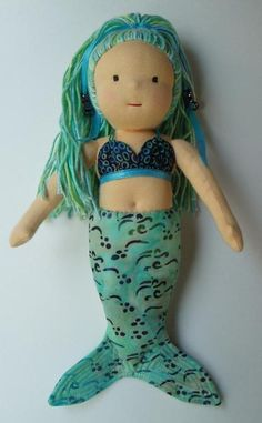 Waldorf-Inspired Mermaid Doll | Craftsy