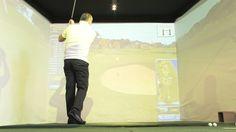Grand opening golf simulator at Wellness Hotel Frymburk. More Information www.golf-frymburk.cz or www.credos-golf.com