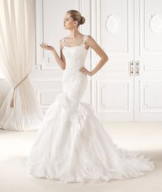 ELIANA wedding dress from the Dreams 2015 - La Sposa collection   La Sposa