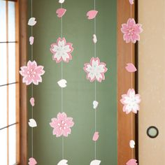 キラキラ輝く 春に咲く満開の桜のつるし飾りの作り方(和小物) | ぬくもり