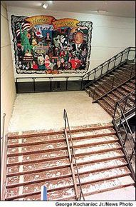Columbine stairs