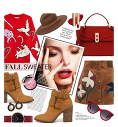 """""""#ootd Cute Fall Sweater"""" by cstarzforhome ❤ liked on Polyvore featuring Paul & Joe, Henri Bendel, RED Valentino, Steve Madden, Abbott Lyon, rag & bone, Alexander McQueen and Chico's"""